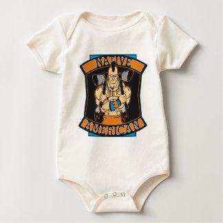 Native American Warrior Bodysuits
