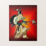 Native American Warrior Jigsaw Puzzles