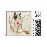Native American Wedding Postage Stamp