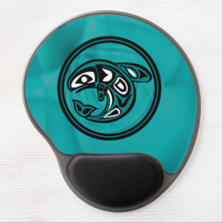 Native American Whale Gel Mouse Pad