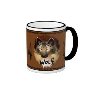 Native American Wolf Mug