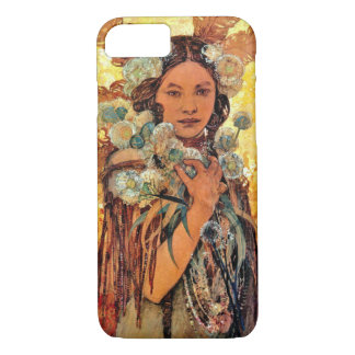 Native American Woman 1905 iPhone 7 Case