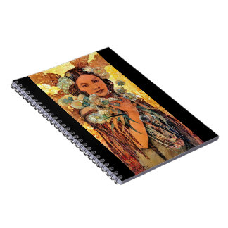 Native American Woman 1905 Notebook