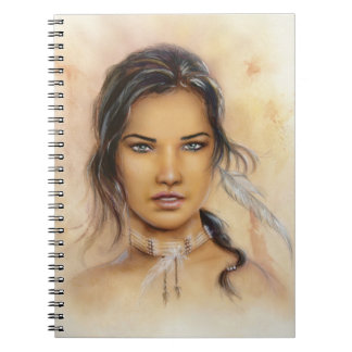 Native American Woman Notebook