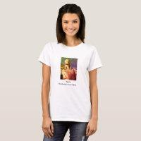 Native American Woman Statue T-Shirt