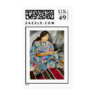 Native American Women Postage