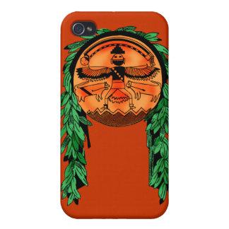 Native American Zuni Shield Case For iPhone 4