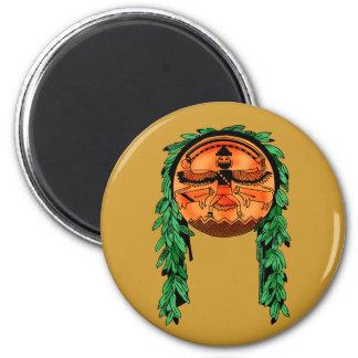 Native American Zuni Shield Magnets