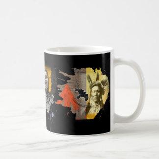 native americans coffee mug
