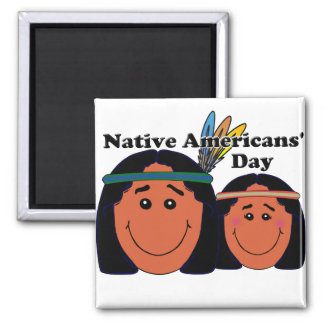 Native Americans' Day Refrigerator Magnets