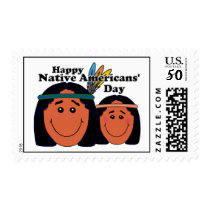 Native Americans' Day Postage