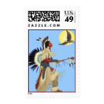 Native Americans Postage Stamp