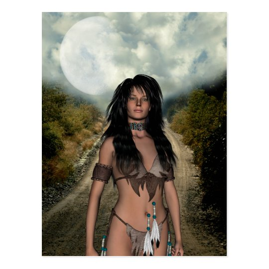 Native Americans Postcard