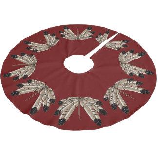 Native Art Christmas Tree Skirt First Nation Decor
