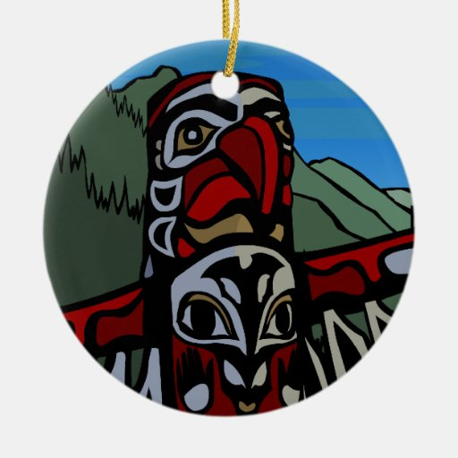 Native Art Ornament First Nations Keepsakes