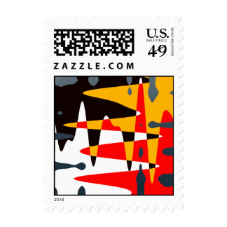 Native Art Stamps Modern Native Art Postage Stamp