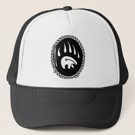 b4fa1b1d56d Native Bear Art Caps Hats Tribal Wildlife Art Hat