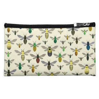 Native Bees Cosmetics Bag