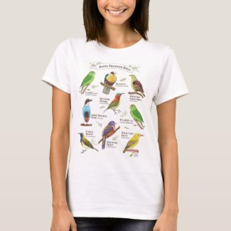Native Birds in the Philippines T-Shirt
