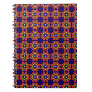 Native Blue Diamonds Notebook