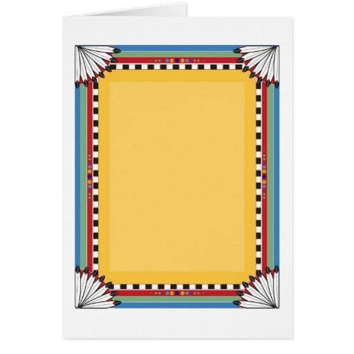 Native Border Card