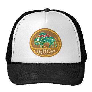 Native Buffalo Painting Trucker Hat