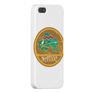Native Buffalo Painting iPhone SE/5/5s Cover