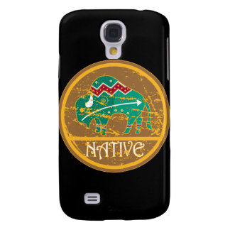 Native Buffalo Painting Samsung S4 Case
