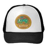 Native Buffalo Painting Trucker Hats