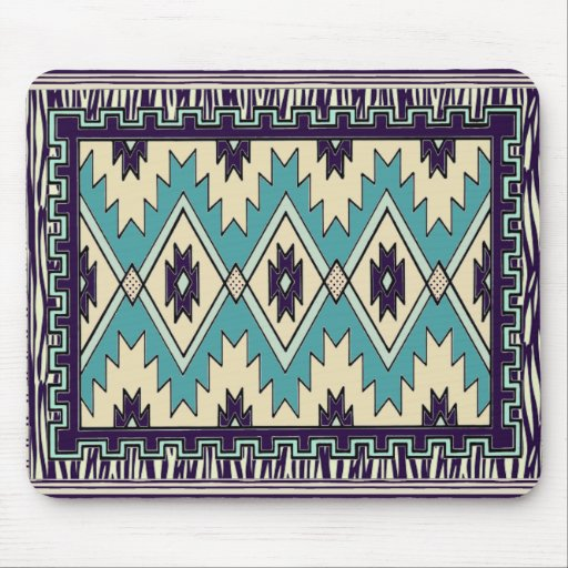 Native Chief Pattern Mouse Pad