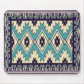 Native Chief Pattern Mousepad