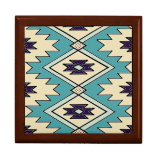 Native Chieftain Pattern Gift Box