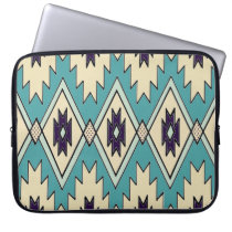 Native Chieftain Pattern Laptop Sleeve