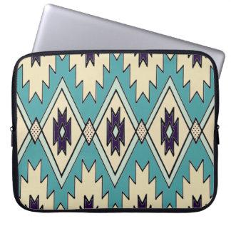 Native Chieftain Pattern Laptop Sleeve