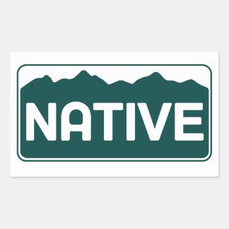 Native Colorado Sticker