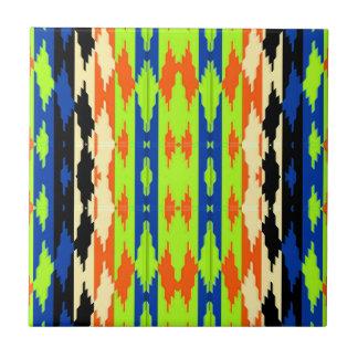 Native Colorful Tribal Aztec Tiles