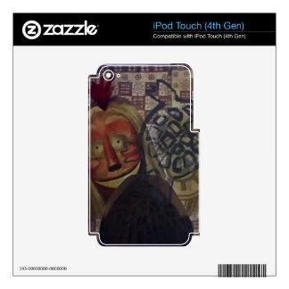 Native Crazy Quilt iPod Touch 4G Skins