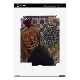 Native Crazy Quilt Skin For iPad 3