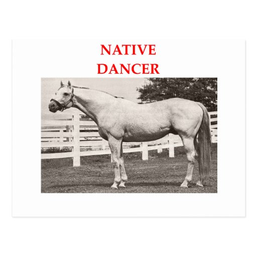 native dancer postcard