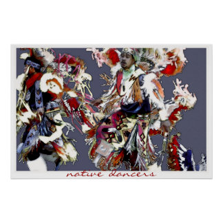 Native Dancers ~ poster