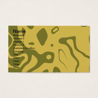 NATIVE DESIGN BUSINESS CARD