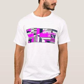 Native Design Customized Graphic print PNK T-Shirt