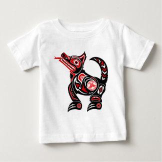 Native Design Wolf Graphic print T-shirt