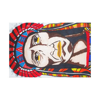 Native drawing canvas print