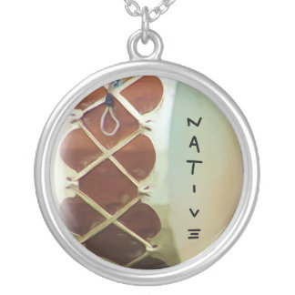 NAtive Drum Personalized Necklace