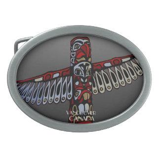 Native Eagle Belt Buckle Vancouve Totem Buckle