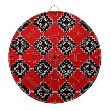 Aztec Themed Native ethnic pattern dartboard