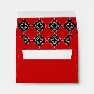 Native ethnic pattern envelope