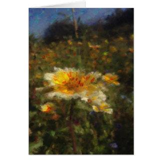 Native Flower Meadow Blank Card