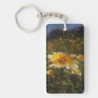 Native Flower Meadow Keychain